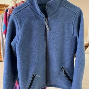 Ibex boiled wool jacket medium.